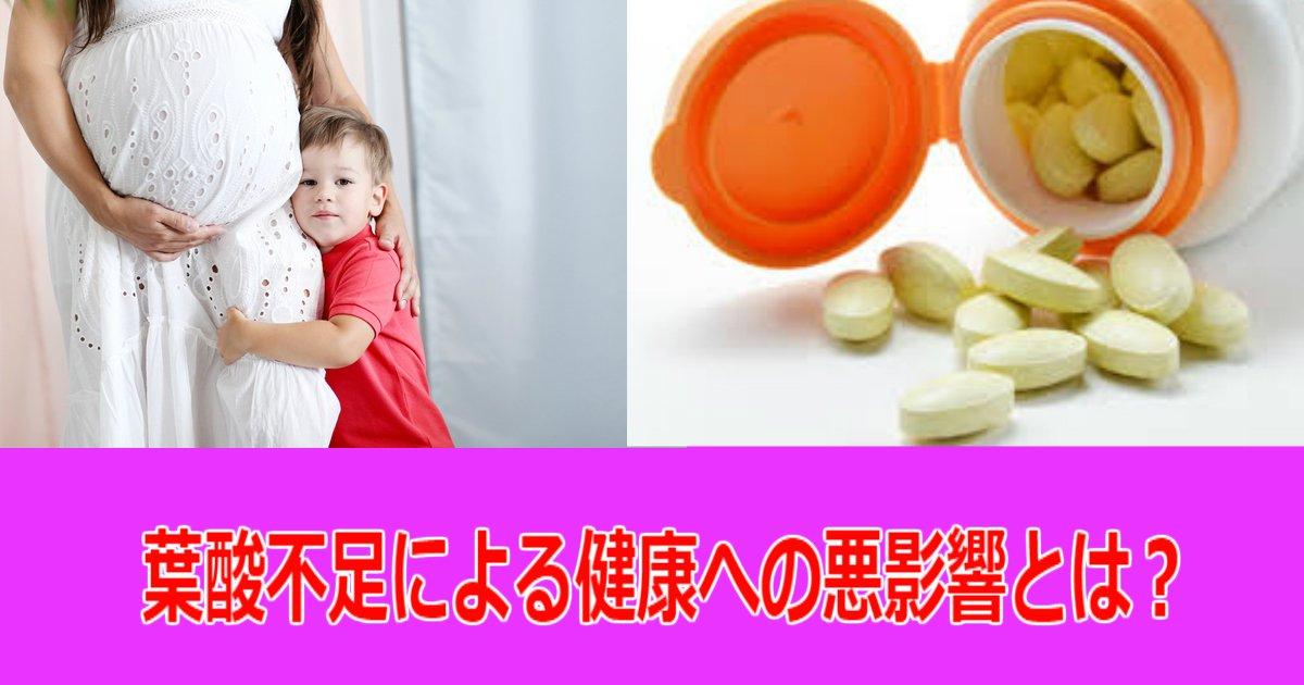 1 11.jpg?resize=1200,630 - 妊娠時の葉酸欠乏の深刻化…!世代を超えて続く葉酸不足の悪影響とは?