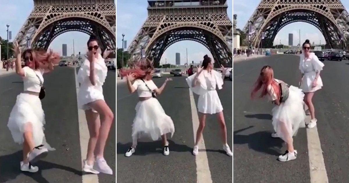 1 side.jpg?resize=636,358 - Bulgarian Pop Star Gery Nikol Gets Herself Arrested After 'Twerking' Under The Eiffel Tower