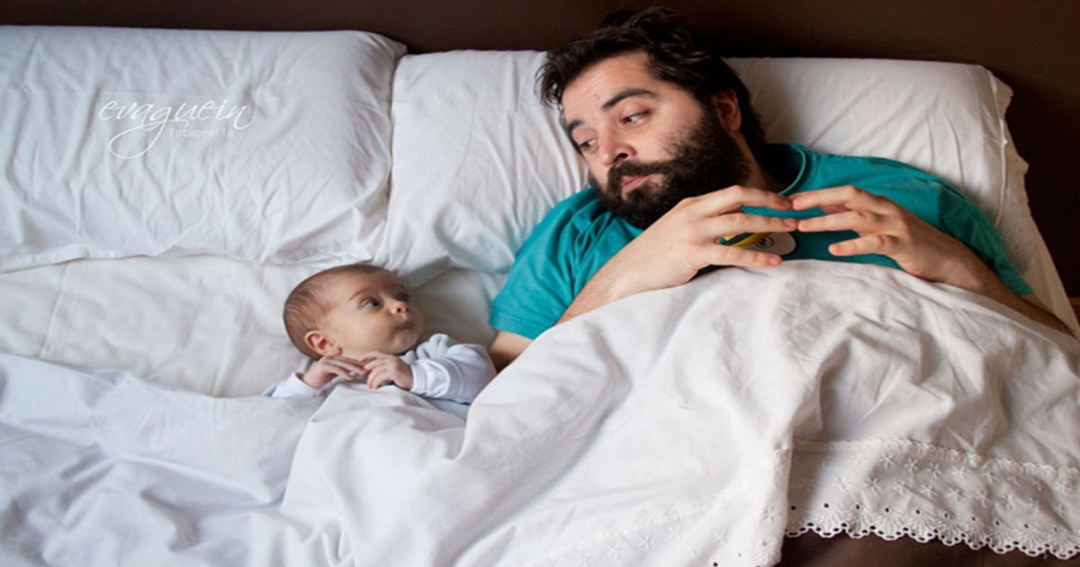 100 7.jpg?resize=1200,630 - 10+ Dads With Their Babies Showing That Fatherhood Brings Out The Best In Men