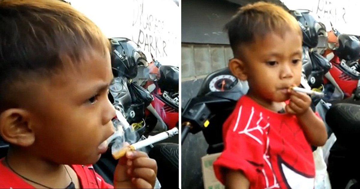 "2 80.jpg?resize=636,358 - ""안주면 펄쩍뛰어요"" ... 두 살 배기에게 매일 담배 '두 갑'씩 사주는 엄마 (영상)"
