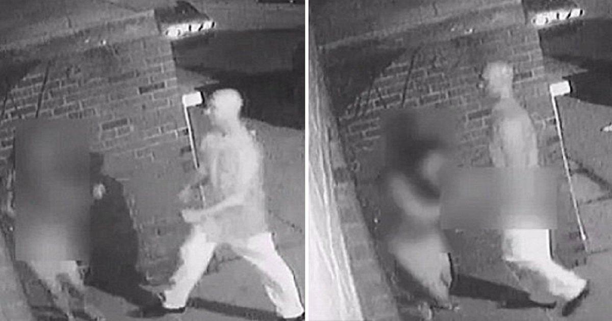 22222 1.jpg?resize=300,169 - 여성 뒤에서 '문' 열리기만을 기다린 범죄자의 소름끼치는 모습 (영상)