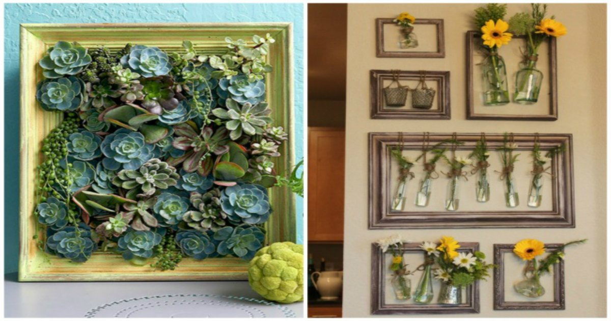3 153.jpg?resize=1200,630 - 23 superb ways to use an old picture frame