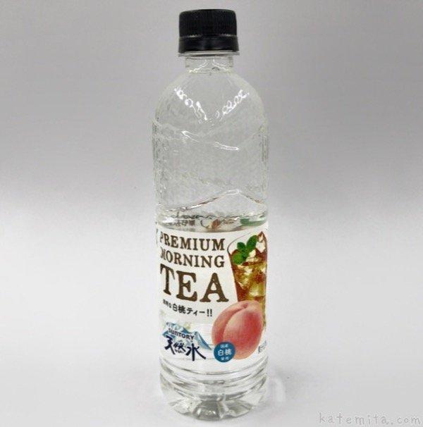 サントリー天然水 PREMIUM MORNING TEA 白桃에 대한 이미지 검색결과