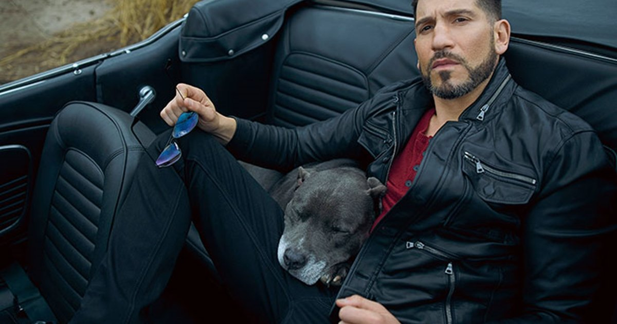 333.jpg?resize=1200,630 - Heartwarming Photos Of 'The Walking Dead' Star With His 3 Rescue Pit Bulls Will Melt Your Heart
