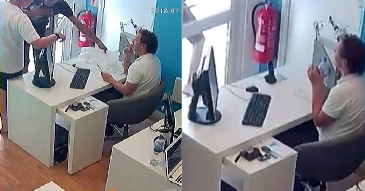 33333.jpg?resize=1200,630 - 길 물어보는 척 하면서 '아이폰' 슬쩍 훔치는 도둑 (영상)