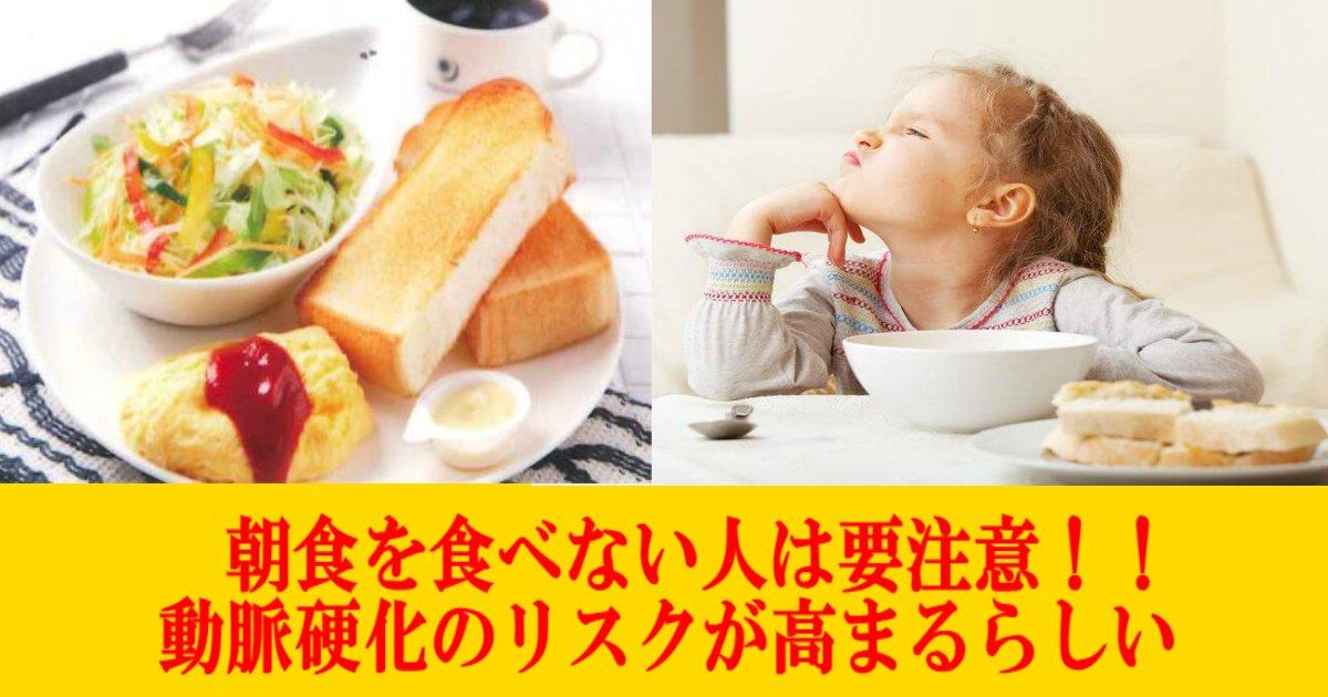 4 13.jpg?resize=300,169 - 【怖い】朝食を食べない人は動脈硬化のリスクが高まる?!