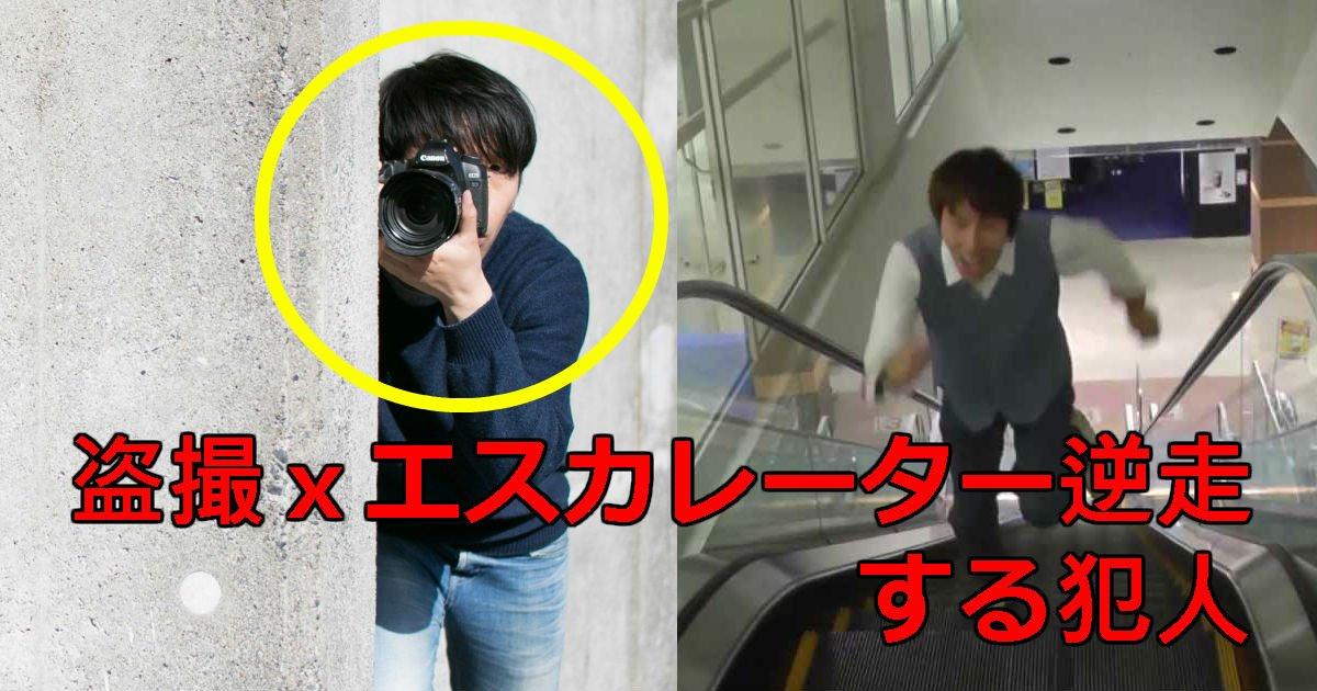 4 19.jpg?resize=1200,630 - 久里浜駅で盗撮してエスカレーターを逆走した犯人の情報アリ!!動機ヤバすぎ…