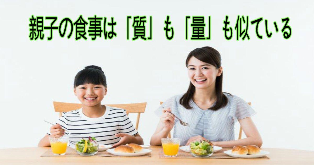 4 20.jpg?resize=1200,630 - 【健康】親子の食事は「質」も「量」も似ている!