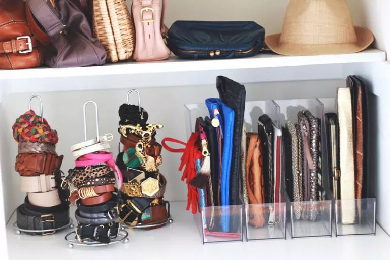 Magazine holders to store accessories