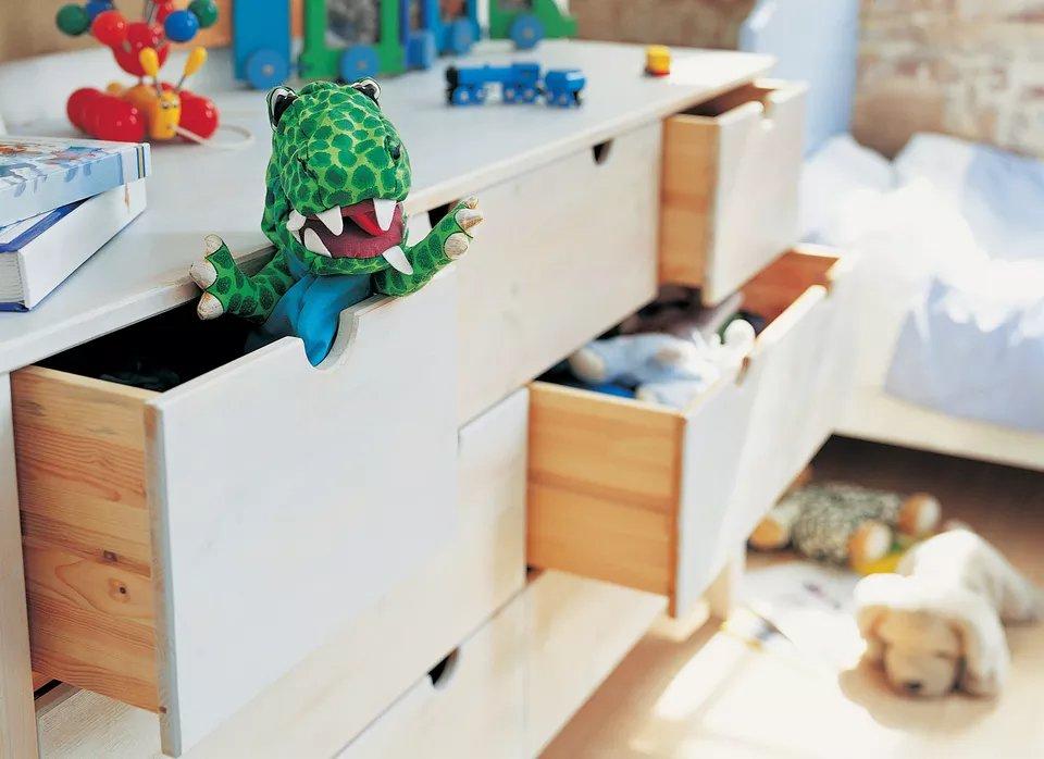 Toy storage options