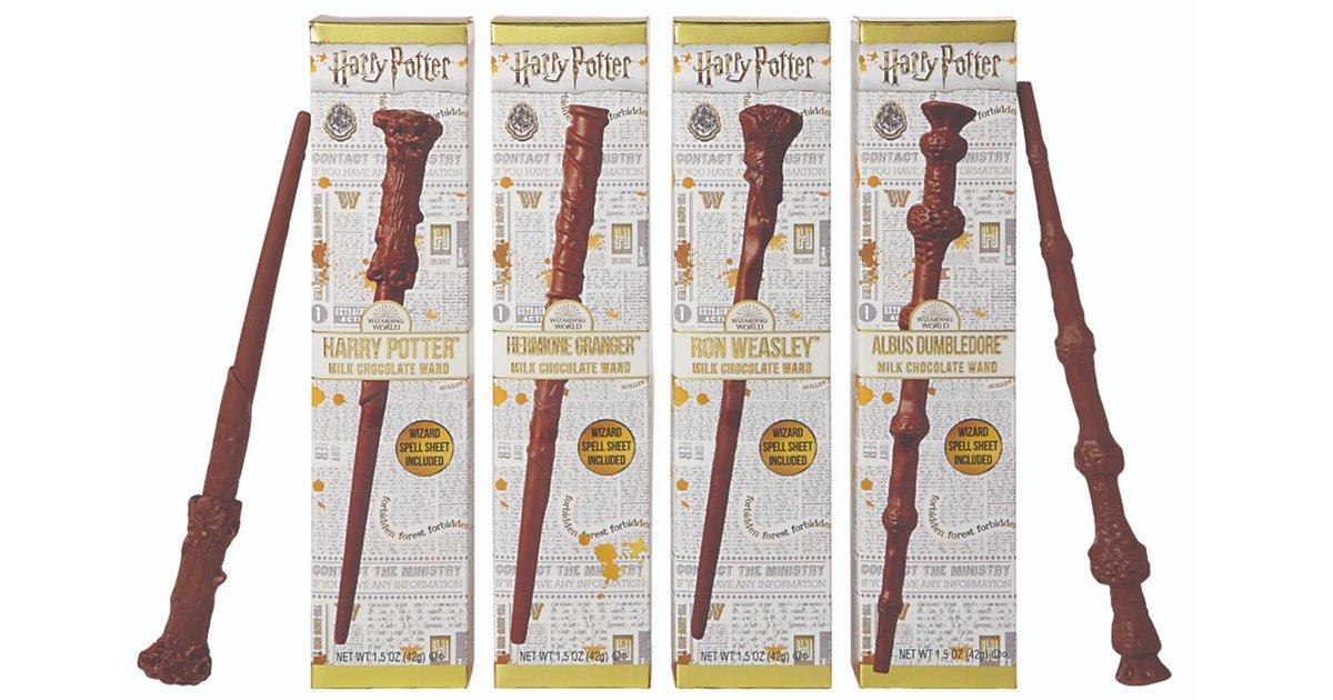 6 7.jpg?resize=648,365 - 해리포터 20주년 기념해서 특별판매하는 '마법 지팡이 초콜릿'