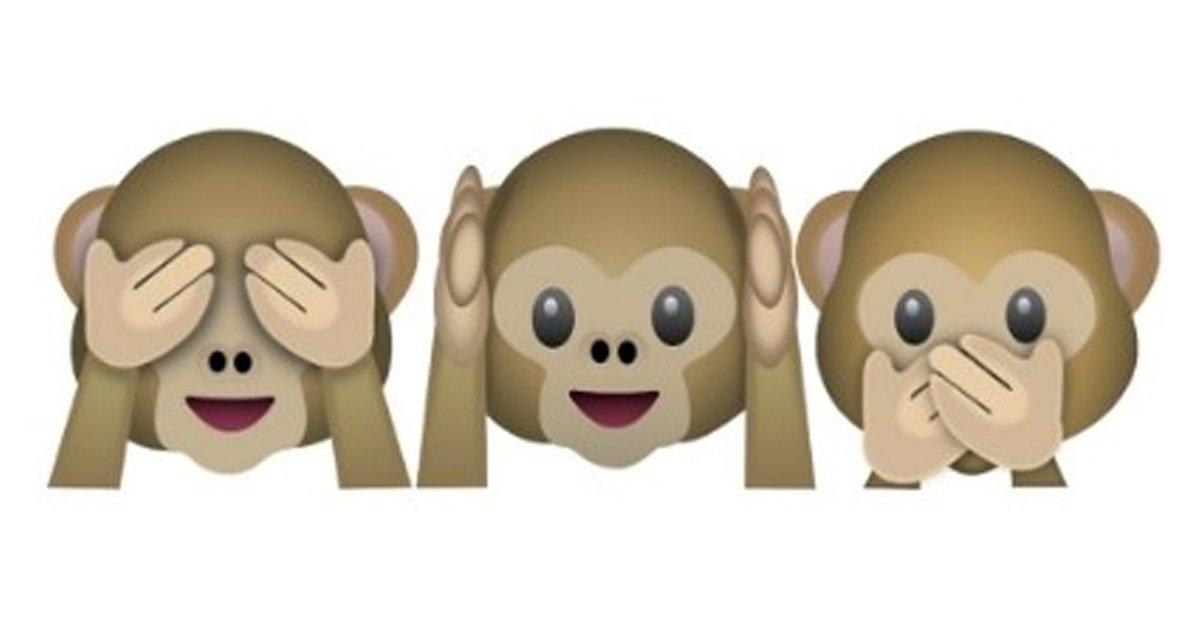 "7 16.jpg?resize=412,232 - ""이런 뜻이었다니""...원숭이 이모티콘의 심오한 '비밀'"