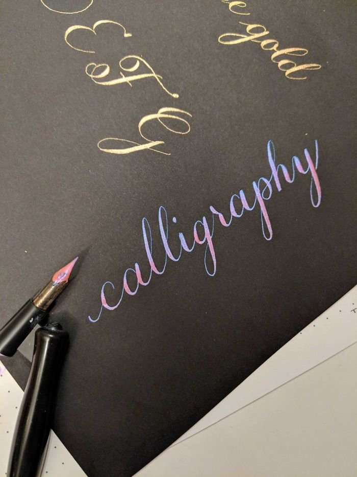 I Quite Liked How This Word Turned Out During Practice This Evening