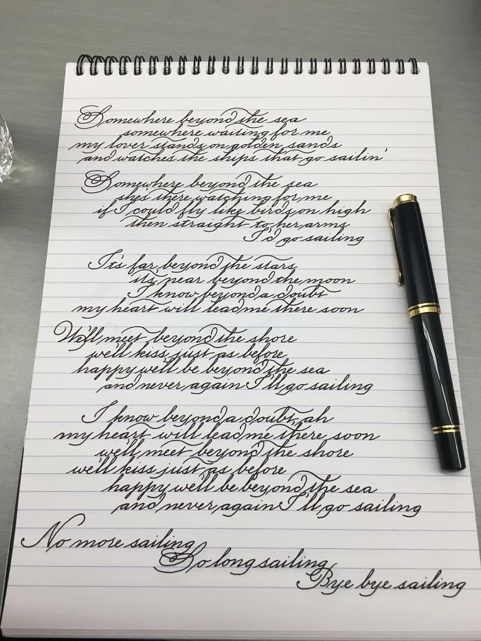 Enjoying Writing Again After Recovering From A Sprained Wrist