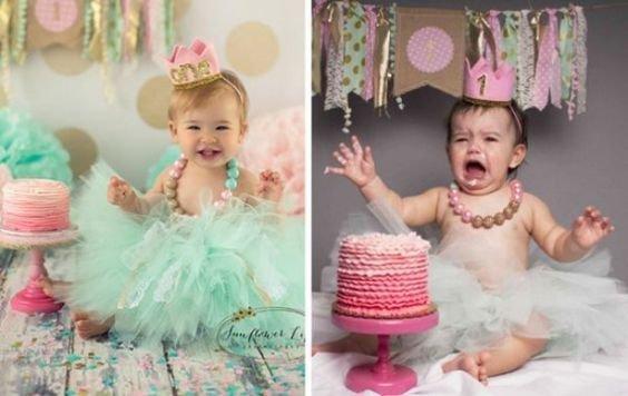 Wer ein eigenes Baby hat, möchte es am liebsten der ganzen Welt zeigen. Man sieht all diese wunderbaren Babyfoto-Ideen auf Pinterest, Facebook und Twitter und kommt schnell auf die Idee, es einmal selbst zu versuchen. Diese Eltern hatten alle gute Absichten und obwohl die Ergebnisse wahrscheinlich nicht das sind, was sie sich erhofft hatten, sind sie dennoch unendlich komisch und wir können nur froh sein, dass die Eltern den Mut hatten, diese auch mit der Welt zu teilen. Schau dir nun die tol...