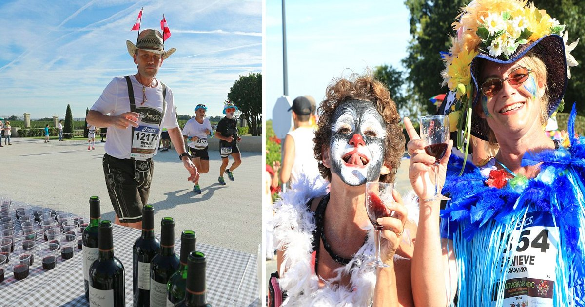 aga 2.jpg?resize=636,358 - Book Your Tickets To France Because This Marathon For Wine Will Make You Want To Run