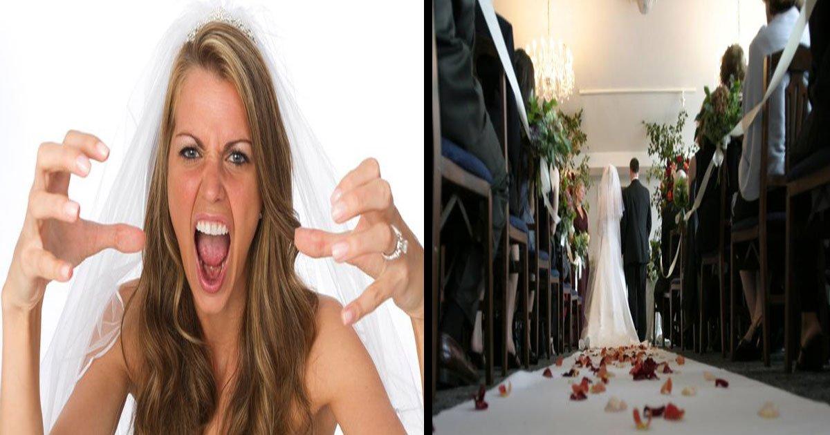 angry bride cancel wedding ask to pay.jpg?resize=412,232 - Noiva furiosa cancela o casamento depois que os convidados se recusam a pagar US$ 1500 para participar da cerimônia