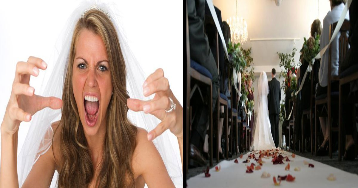 Angry Bride Calls Off Wedding When Guests Refused To Pay