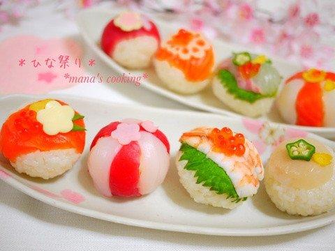 手まり寿司 ひな祭り에 대한 이미지 검색결과
