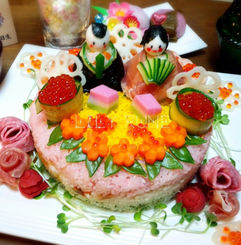 ちらし寿司 お雛様에 대한 이미지 검색결과