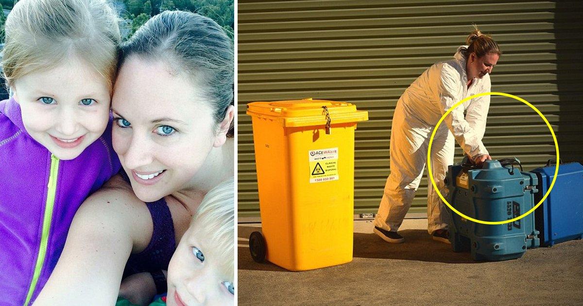 bag.jpg?resize=412,232 - Cette femme australienne nettoie les scènes de crime pour gagner sa vie