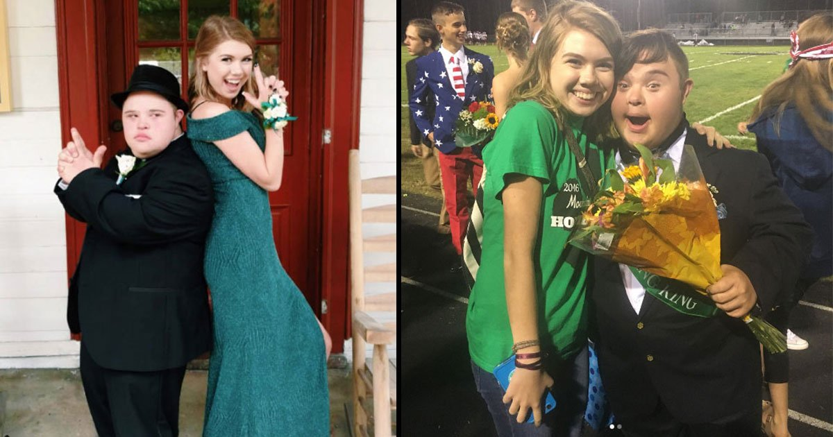 ben raceal prom down syndrome 4.jpg?resize=412,232 - Girl Asked Her Best Friend With Down Syndrome To Be Her Prom Date