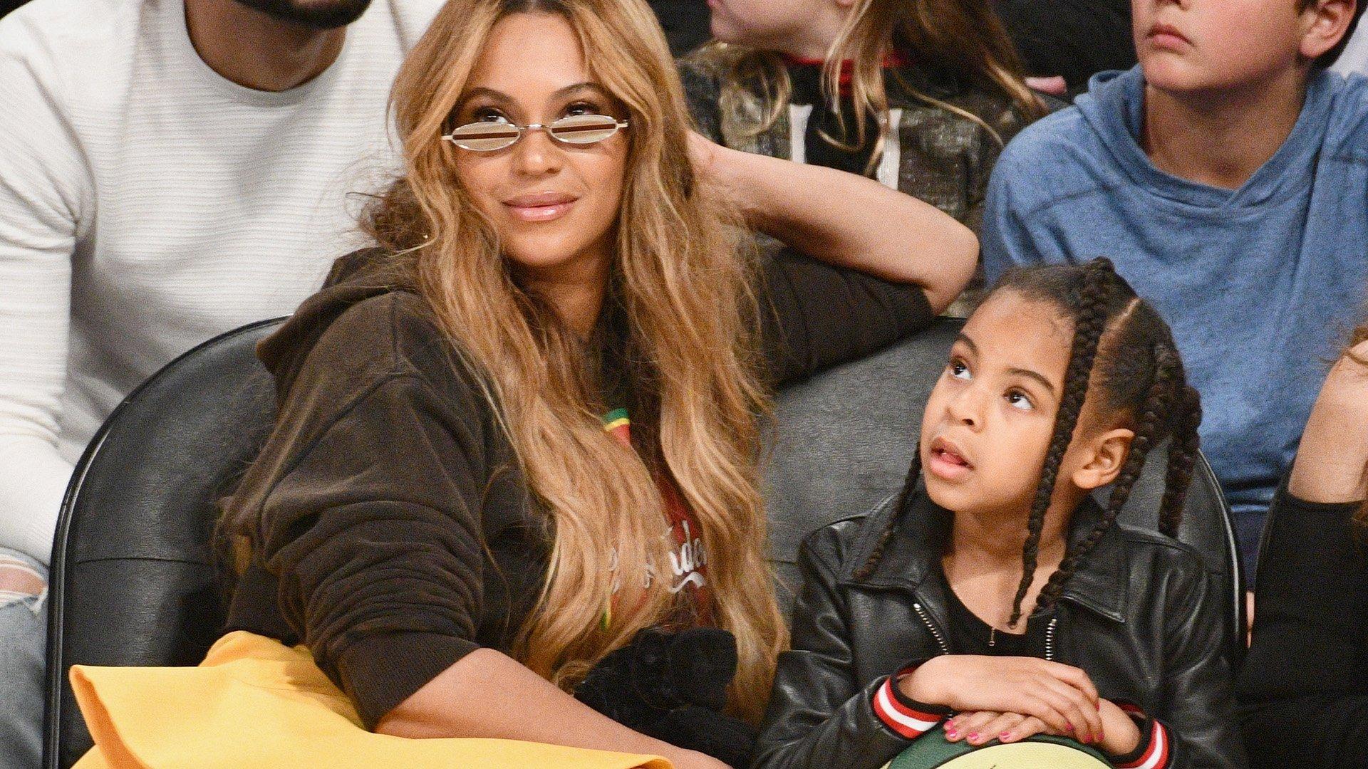beyonce blue ivy1.jpg?resize=300,169 - Beyoncé fala sobre como seu corpo mudou após a gravidez e faz relato emocionante sobre como espera que seus filhos cresçam