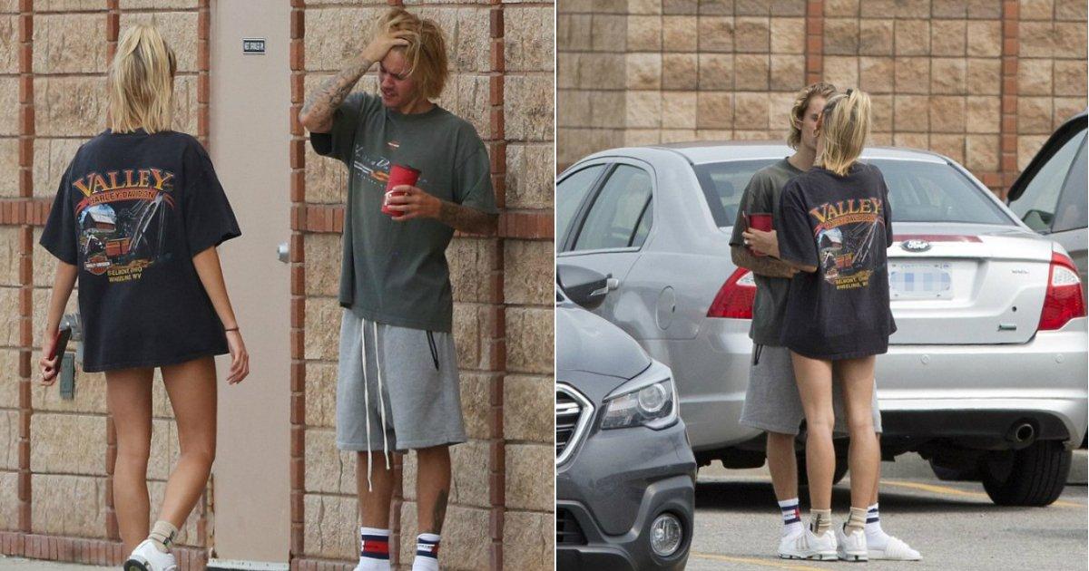 bieber.jpg?resize=636,358 - Justin Bieber éclate en sanglots jusqu'à ce que sa fiancée Hailey Baldwin le réconforte.