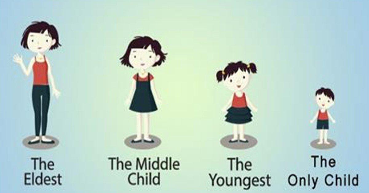 birth order.jpg?resize=636,358 - Pesquisa descreve como a ordem do nascimento entre irmãos molda sua personalidade e inteligência