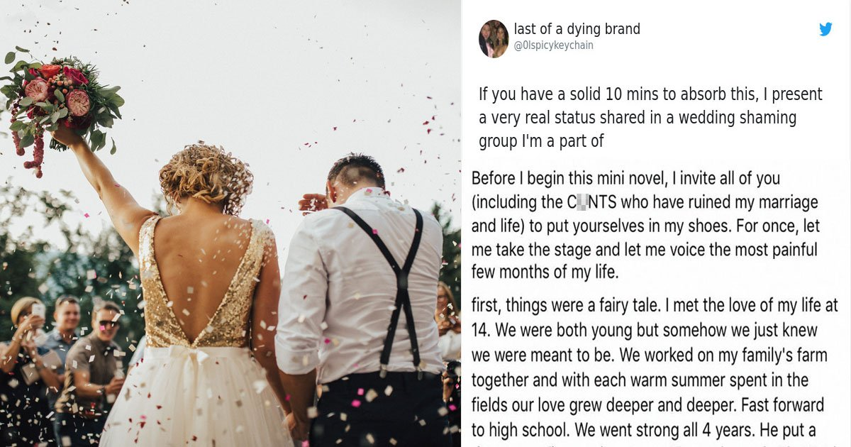 Hilarious Thread: Bride Asks Wedding Guests To Contribute