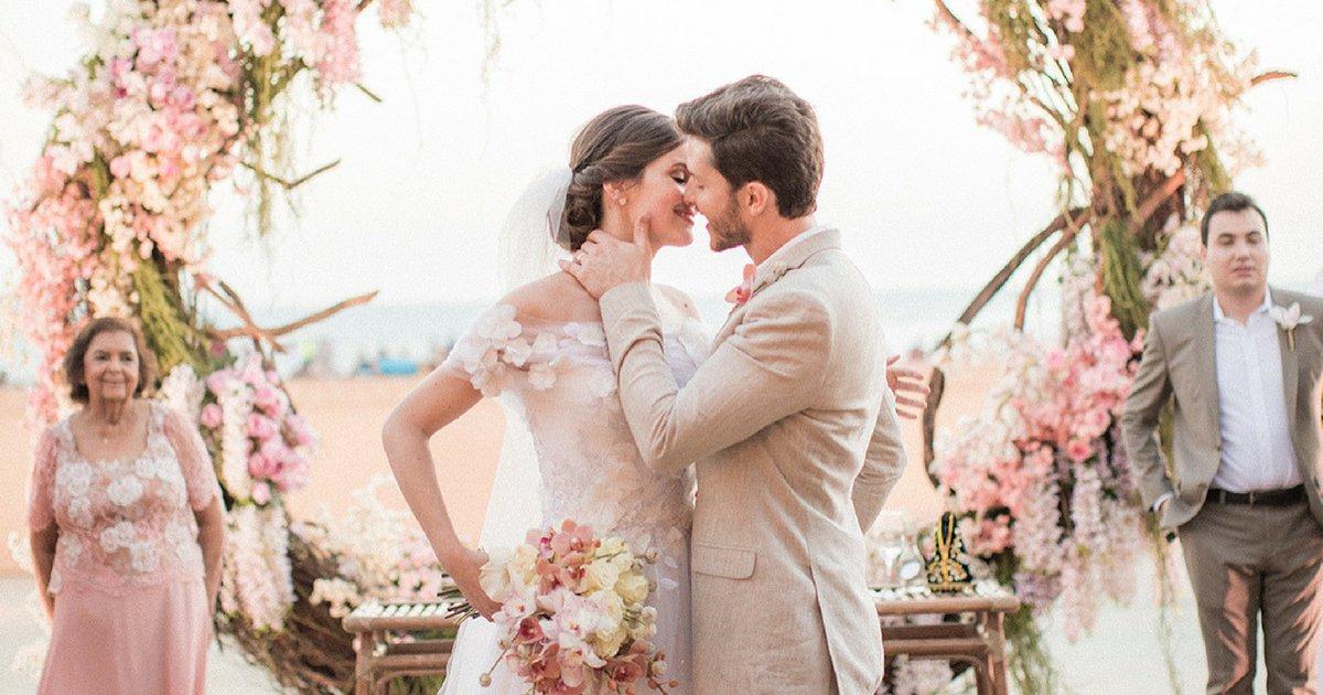camilaklebber.png?resize=1200,630 - Camila Queiroz e Klebber Toledo se casam ao pôr do sol de Jericoacoara