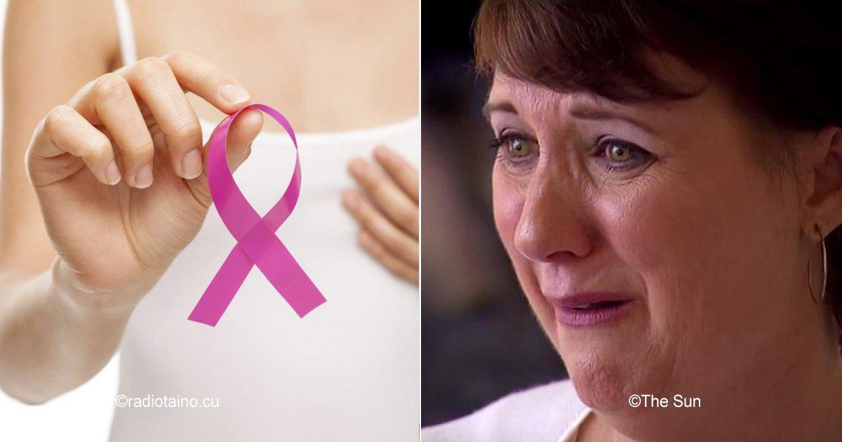 cancer 4.jpg?resize=300,169 - Ella padeció un síntoma muy extraño, ahora comparte su experiencia para prevenir a otras mujeres del cáncer de mama.