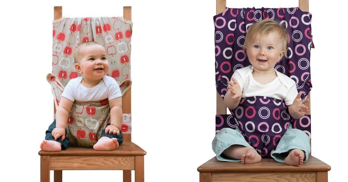 capa00000tfruyf.png?resize=1200,630 - Essa cadeirinha de bebê adaptável fará com que seu bebê coma ao seu lado com conforto e segurança