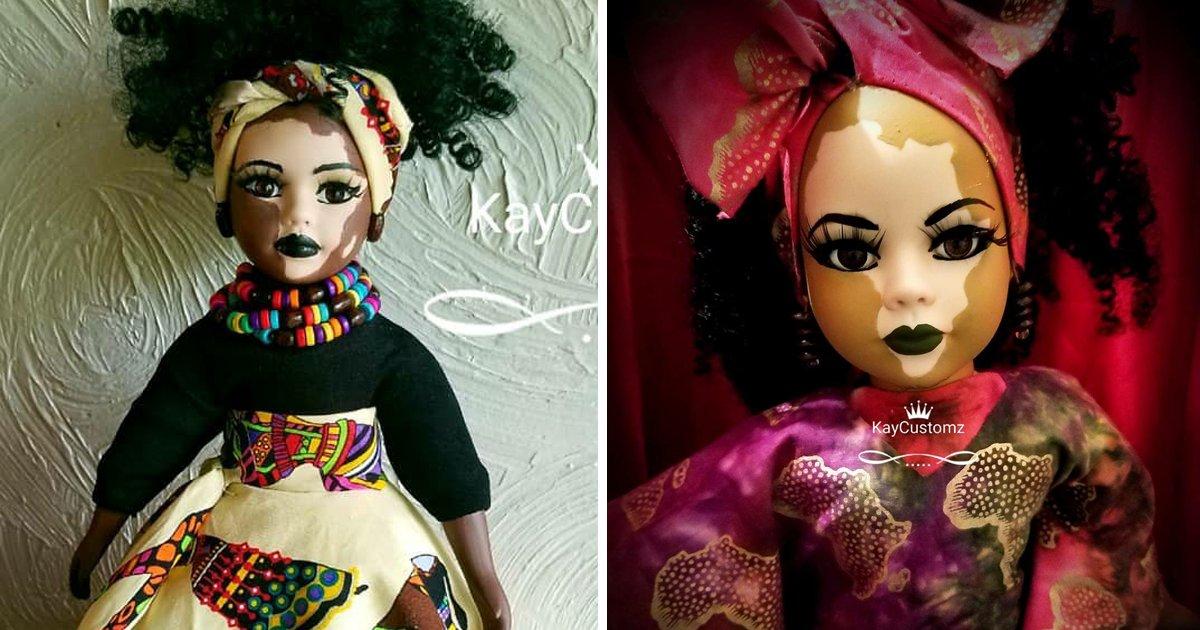 capa56.png?resize=1200,630 - Artista cria bonecas com vitiligo para celebrar a diversidade