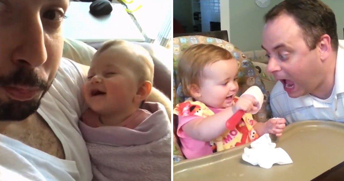 capa6.png?resize=1200,630 - Compilação em vídeo mostra os momentos mais adoráveis e divertidos dos pais com seus bebês