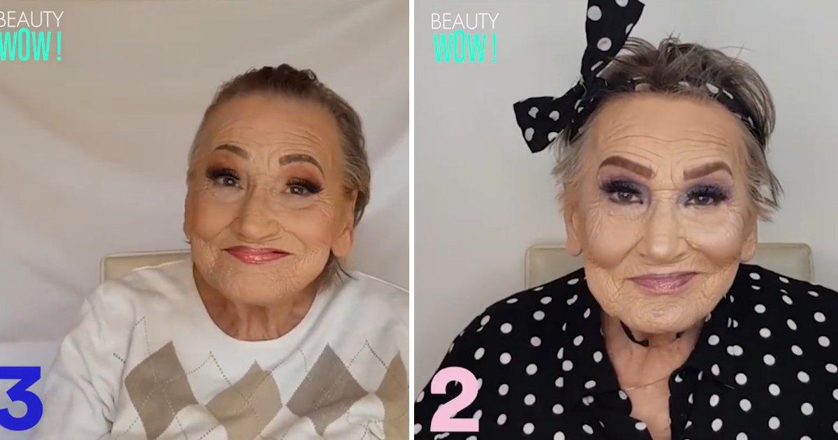 capa7 1.png?resize=1200,630 - Vídeo adorável mostra vovó dando dicas de maquiagem