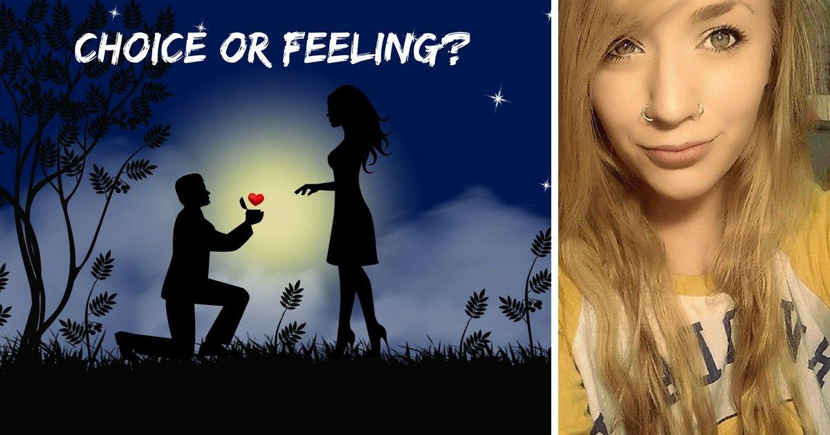choice or feeling.png?resize=412,232 - Une poète de 25 ans explique pourquoi les gens divorcent et plus d'un million de personnes sont d'accord avec elle
