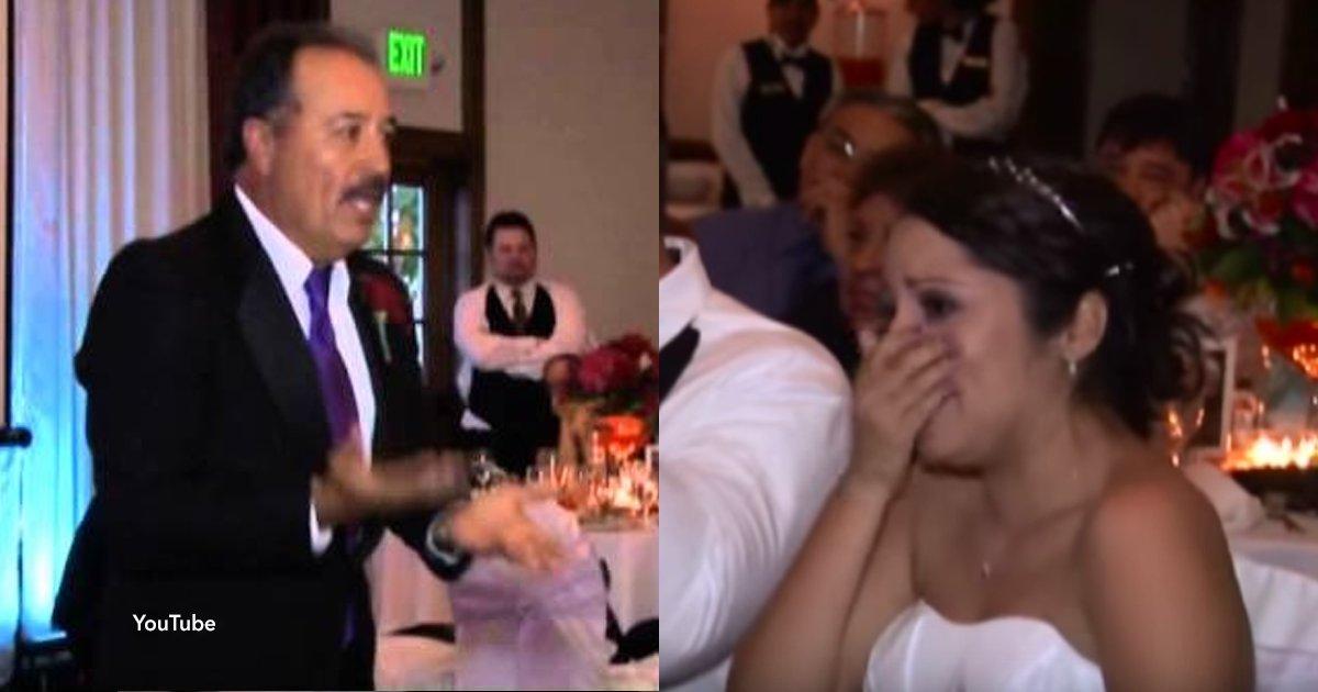 cov 1 22.png?resize=648,365 - Sorprendió a su hija en el día de su boda con un regalo super emotivo que generó las lágrimas de todos