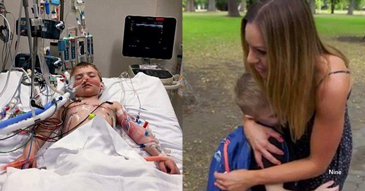 cov 1 3.png?resize=300,169 - Su hijo de 3 años murió en un accidente, donó sus órganos y se encontró con uno de los niños que salvó
