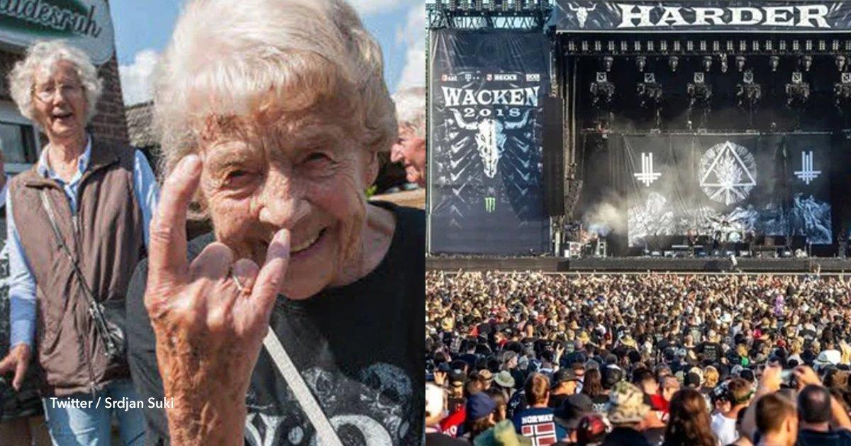 cov 1 34.png?resize=648,365 - Dos abuelos se escaparon de un asilo para ir a disfrutar del festival de metal más grande del mundo