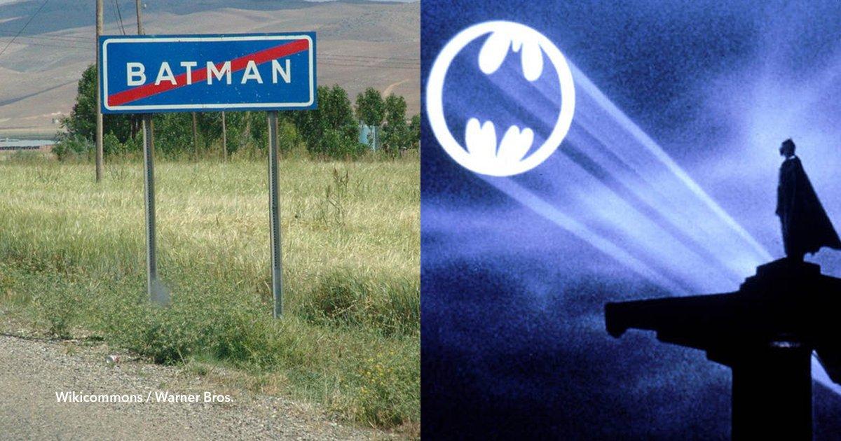 cov 1 36.png?resize=412,232 - Realizaron una petición en Change.org que pide modificar la frontera de la ciudad de Batman, en Turquía, para que tenga la forma del logo del superhéroe