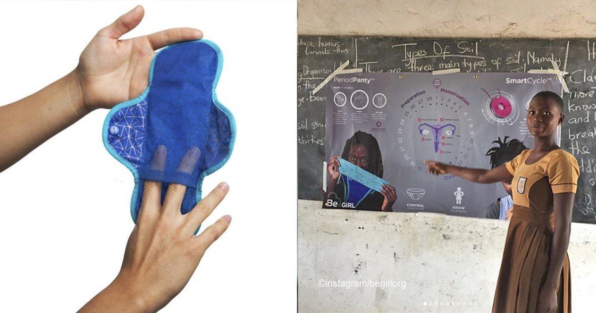 cover22 21.jpg?resize=300,169 - Una mujer colombiana diseñó ropa interior que también funciona como toalla femenina para las mujeres que viven en África