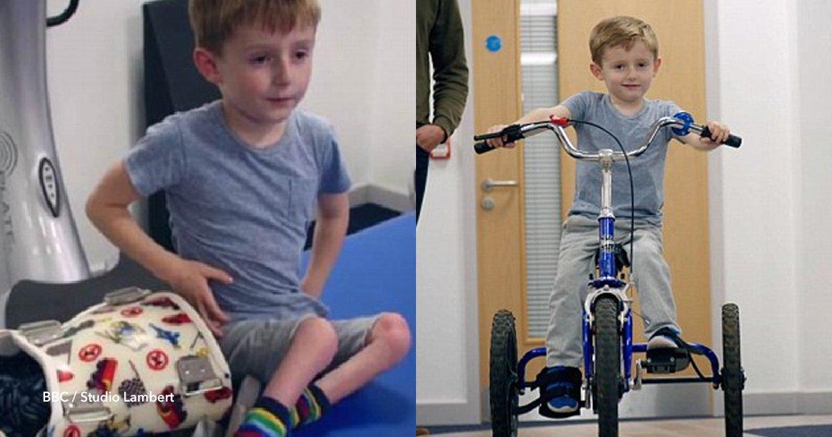 cover22 3.png?resize=300,169 - Un niño de 4 años estuvo casi toda su vida paralizado pero consiguió volver a caminar gracias a un videojuego