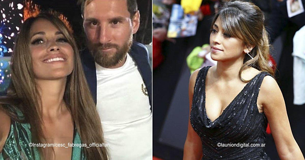 cover22 copia.jpg?resize=300,169 - La esposa de Messi, Antonela Roccuzzo, lució un atrevido vestido que impactó a todos los asistentes en la boda de Cesc Fábregas