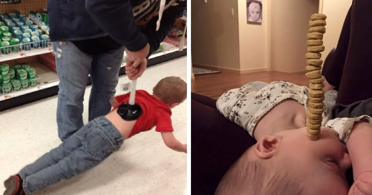 dad kids.jpg?resize=1200,630 - 45 Hilarious Reasons Dads Can't Be Trusted With The Kids