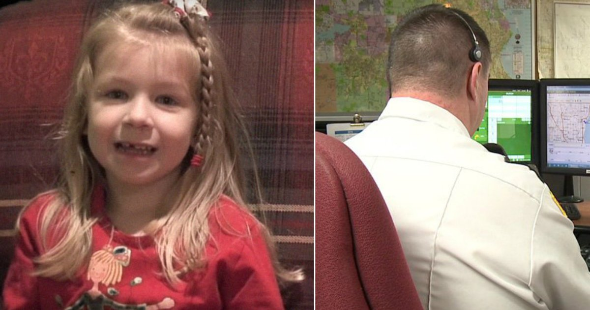 dispatcher.jpg?resize=1200,630 - 5-Year-Old Girl Dials 911 To Save Her Dad's Life And Strikes Fun Conversation With The Dispatcher