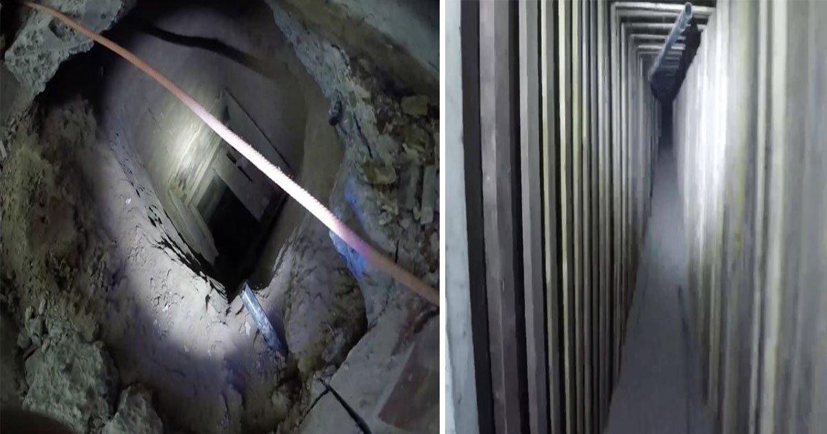 drug tunnel found mexico arizona kfc.jpg?resize=1200,630 - Autoridades dos EUA descobrem túnel de drogas abandonado que ligava o México ao Arizona
