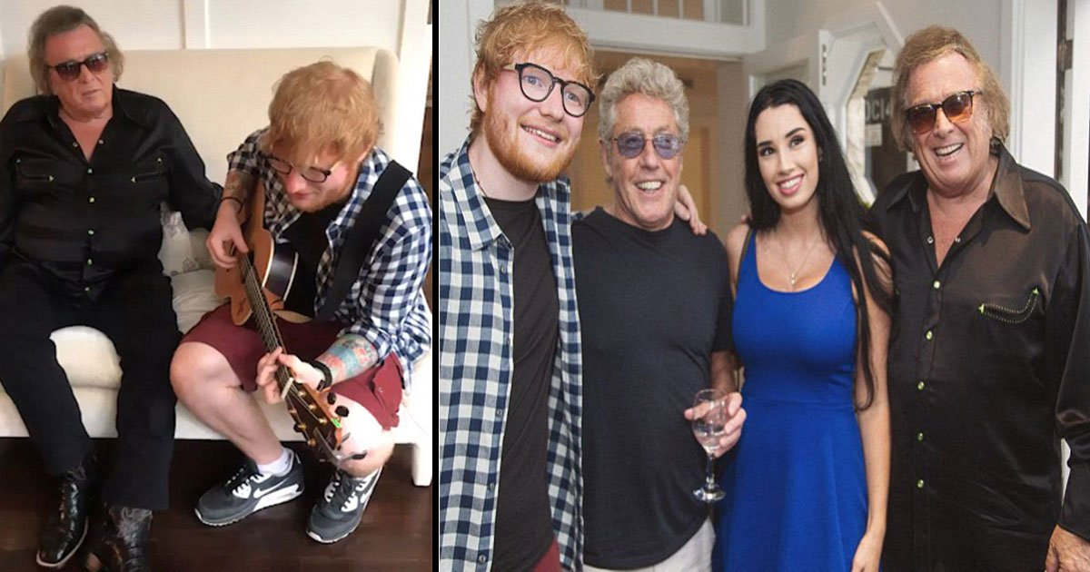 ed sheeran and don mclean4.jpg?resize=1200,630 - Ed Sheeran And Don McLean Sent Fans Into A Meltdown With Their Incredible Vocal Talents