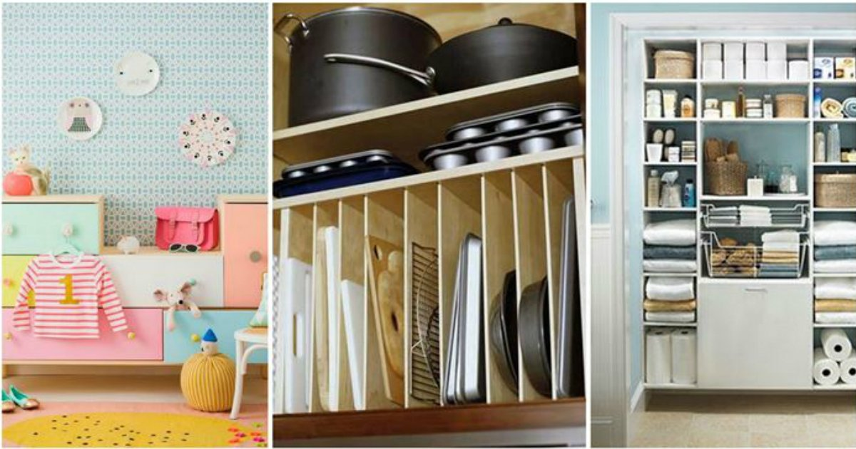 every room.jpg?resize=1200,630 - 10+ Ideas to Help You Organize Every Room in Your Home