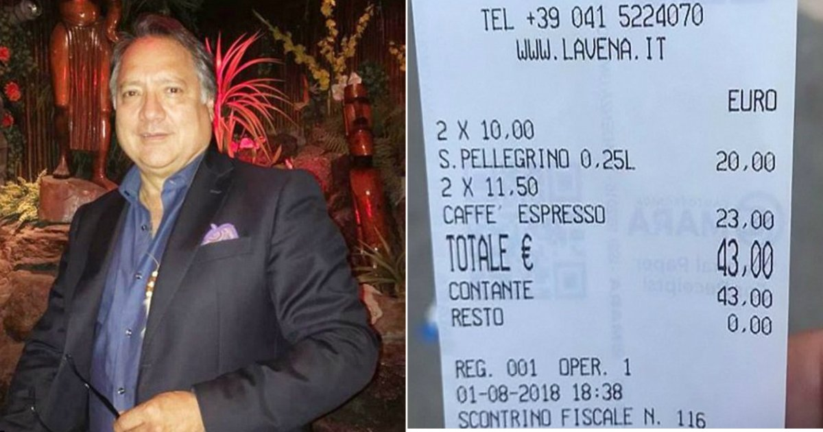 expensive cafe.jpg?resize=412,232 - Angry Customer Slams Venice Café For Charging Him $50 For Two Cups Of Coffee And Two Bottles Of Water